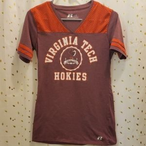 Russell Virginia Tech Tshirt Large